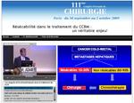 Résécabilité dans le traitement du CCRM